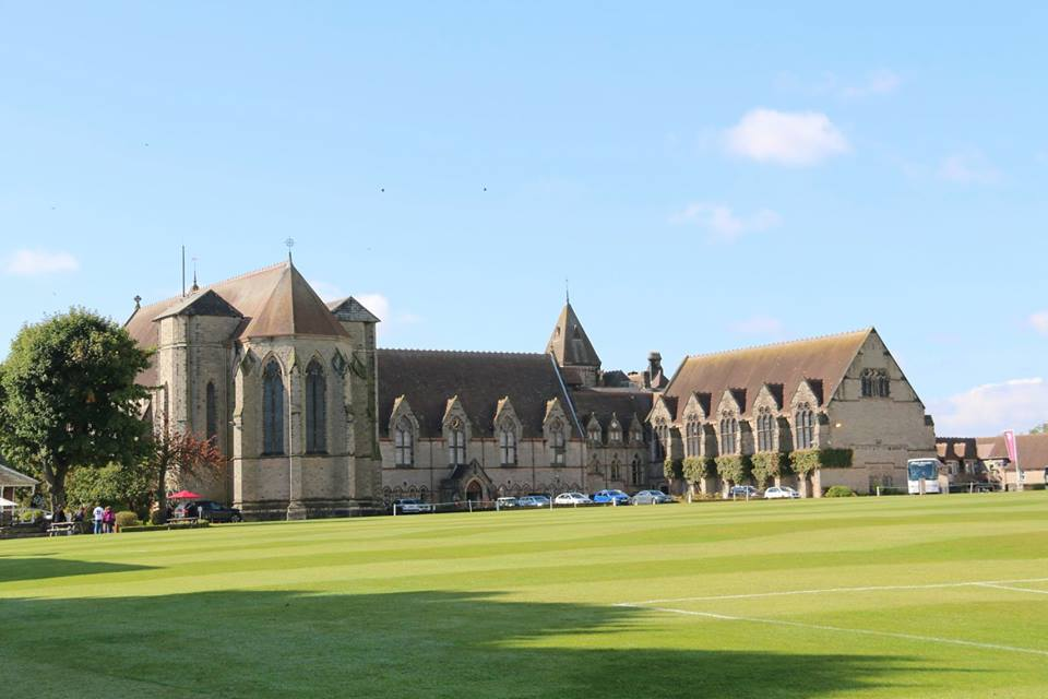 A view of Denstone College